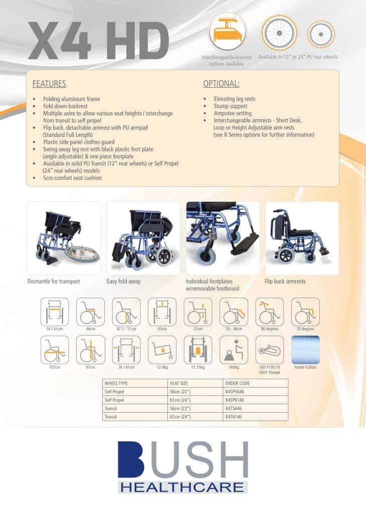X4 Brochure